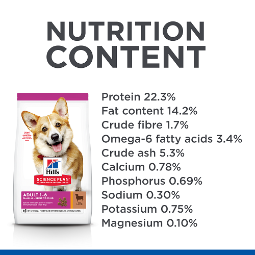 NUTRITION SM Adult Dog Food Dry LambRice UK 604344 - Hill's Science Plan Canine Adult Small & Mini with Chicken