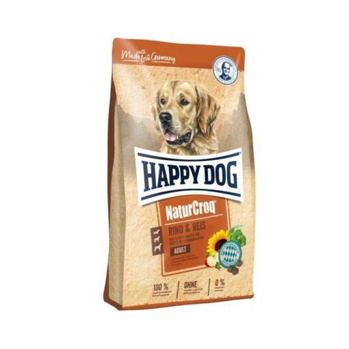 happy dog naturcroq rind ries - Happy Dog - Naturcroq Beef & Rice (15kg)
