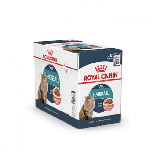 Hairball 85g 6 - Royal Canin - Feline Care Nutrition Hairball Gravy