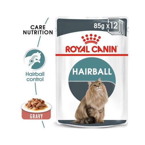 hair ball 85 7 - Royal Canin - Feline Care Nutrition Hairball Gravy