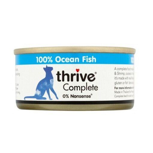 thrive ocean fish 75g 1 - Thrive Cat Ocean Fish Wet Food 75g