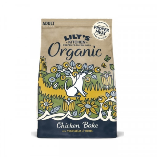 LK Organic chicken and veg p - Lily's Kitchen Adult Organic Chicken Bake with Vegetable & Herb