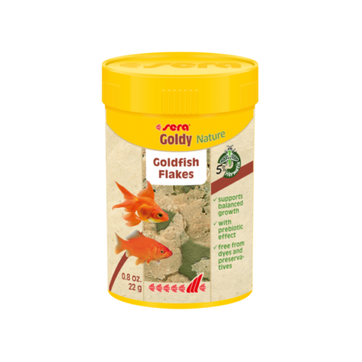 sera goldy nature fish food - Sera Fish Food Goldy Nature 22g