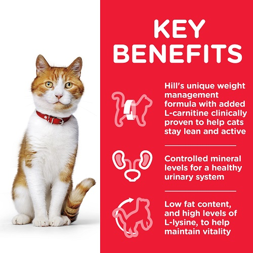 CAT Young Adult Sterilised Chicken Transition Benefits 604122 - Hill'sScience Plan Sterilised Cat Young Adult With Chicken