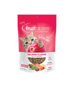 Fruitables Salmon Flavor with Cranberry Cat Treats 70g