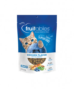 Fruitables Chicken Flavor with Blueberry Cat Treats 70g