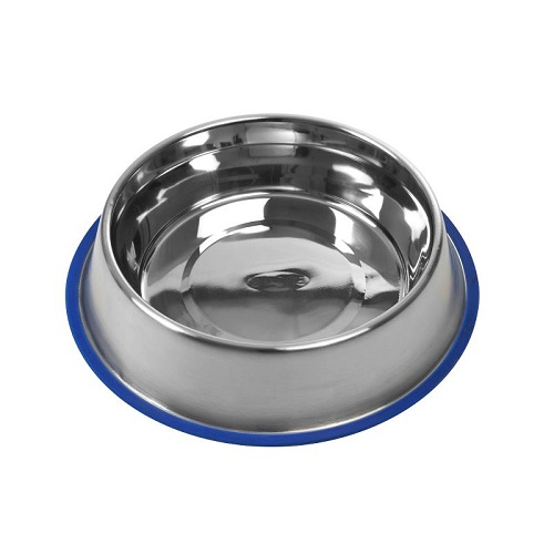 281483 - Buster Stainless Steel Bowl Blue Base