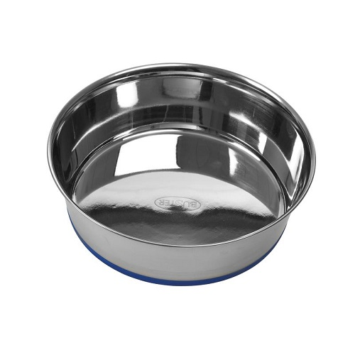 281491 - Buster Stainless Steel Bowl Blue Base SS