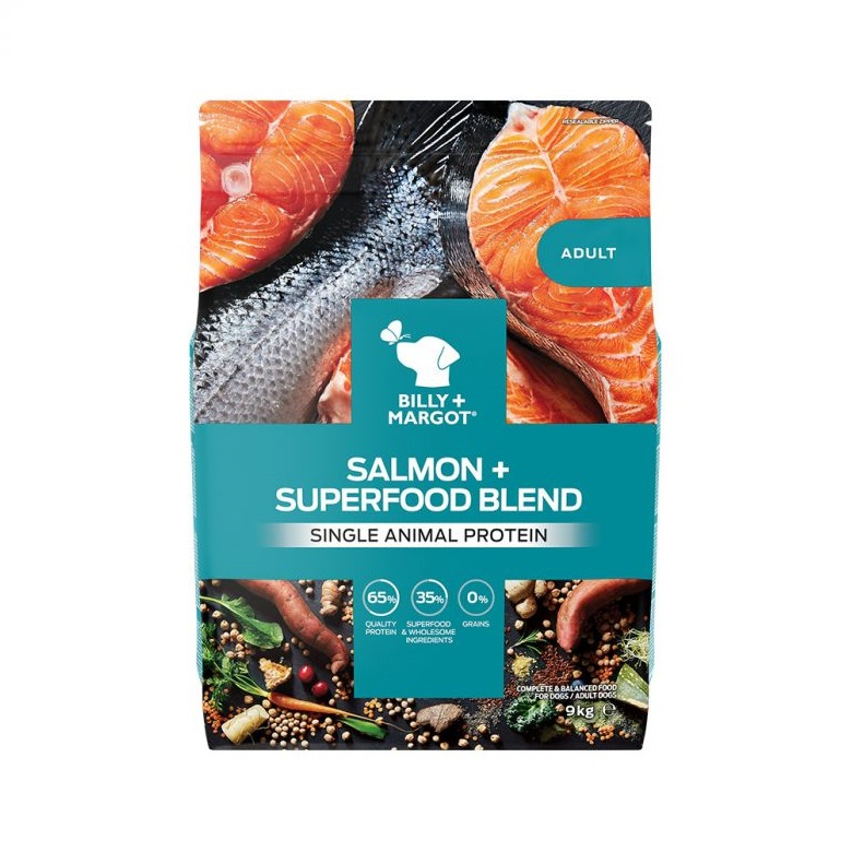 300871 9kg 1 - Billy & Margot Adult Salmon and Superfood Blend Dry