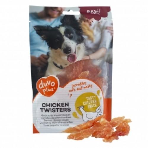 5414365341213 500x500 1 - Duvo+ Dog Snack Chicken Twisters 80G