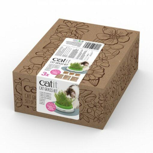 745bd11d 8e84 46df b0ef 438ec92badf8 - CatIT Cat Grass Kit - Set of 3