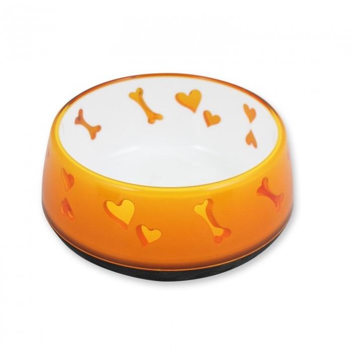 Dog Love Bowl Orange - Dog Love Bowl Orange
