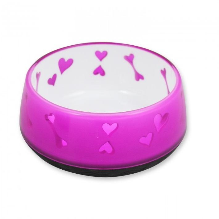 Dog Love Bowl Pink - Dog Love Bowl Pink