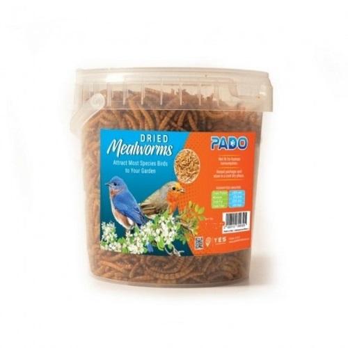 pado meal worms100 - Pado Dried Meal Worms Birds Food