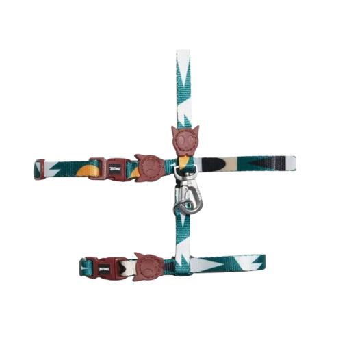 zee.cat apache harness leash set 1 - Zee Cat Apache Harness & Leash Set