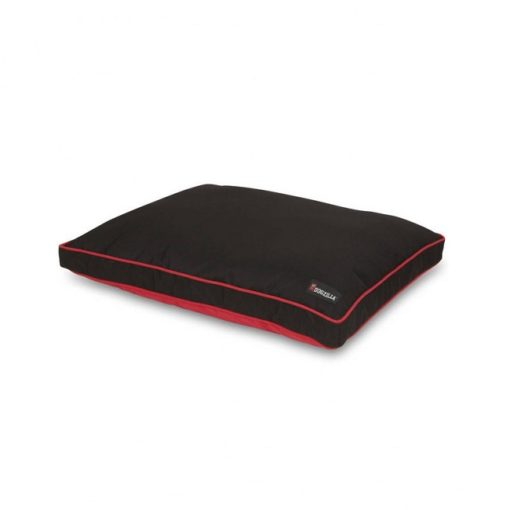 80381 1000x1000 1 - Petmate Dogzilla 29x40 Gusseted Pillow Bed Red and black