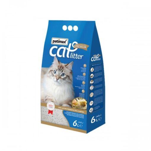 8680445861453 500x500 1 - Patimax Ultra Premium Bentonite plus zeolite Catlitter (Soap Fragrance)