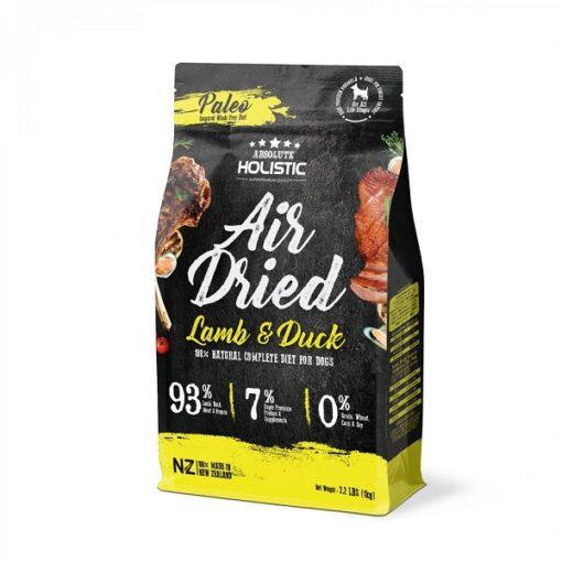AD 4013 Lamb Duck DOG LEFT PadWzE1MDAsMTUwMCwiRkZGRkZGIiwwXQ 1000x1000 1 - Absolute Holistic Air Dried Dog Diet - Lamb & Duck