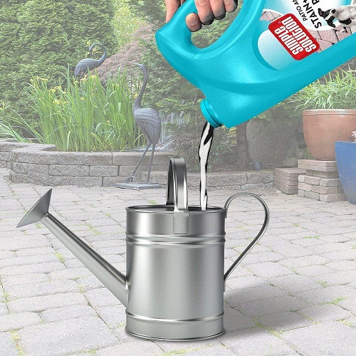 Dog Stain Odour Remover 3 - Simple Solution Patio and Decking Pet Stain and Odour Remover