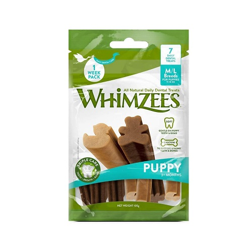 Dog Stain Odour Remover 4 2 - Whimzees Puppy Stix M-L (7 Pcs)