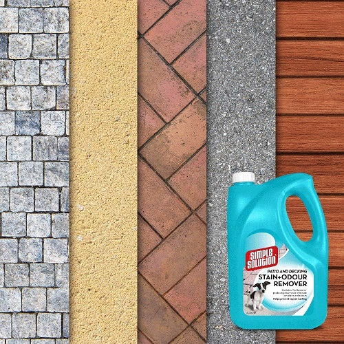 Dog Stain Odour Remover 4 - Simple Solution Patio and Decking Pet Stain and Odour Remover