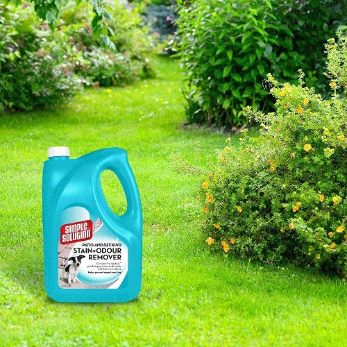 Dog Stain Odour Remover 5 - Simple Solution Patio and Decking Pet Stain and Odour Remover