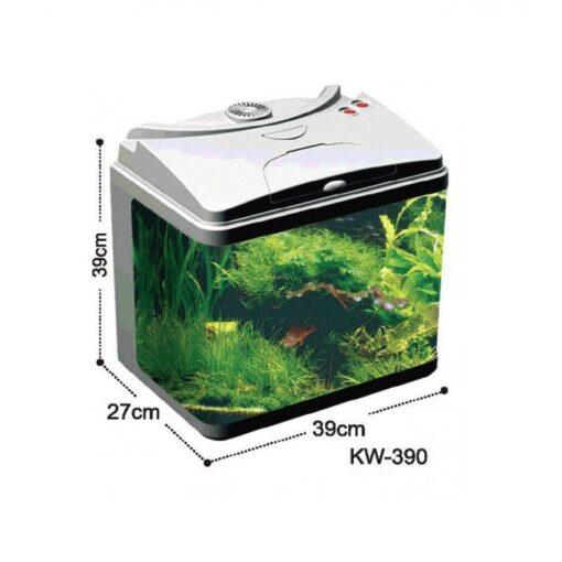 KW390BLK 500x500 1 - Aquarium Tank KW-390