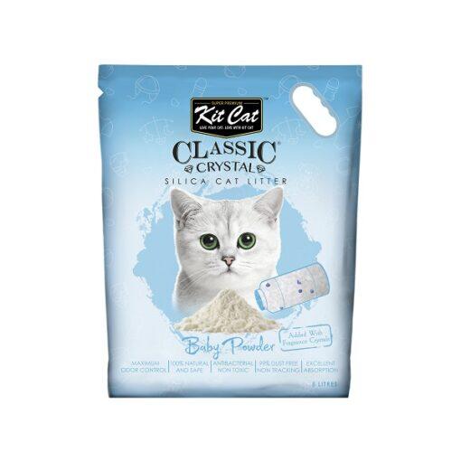 Kit Cat Classic Crystal Baby Powder - Kit Cat Classic Crystal Cat Litter – Baby Powder (5 Litres)
