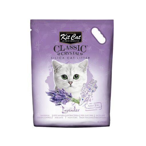 Kit Cat Classic Crystal Lavender - Kit Cat Classic Crystal Cat Litter – Lavender (5 Litres)