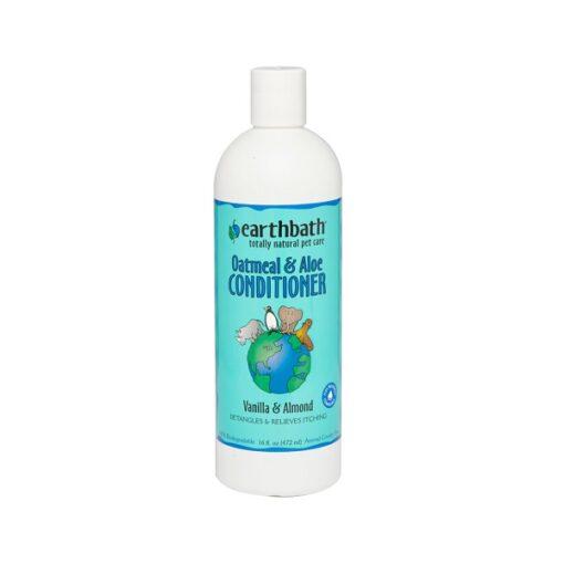 Oatmeal Aloe Conditioner 16 - Earthbath Oatmeal & Aloe Conditioner Vanilla Almond 16oz