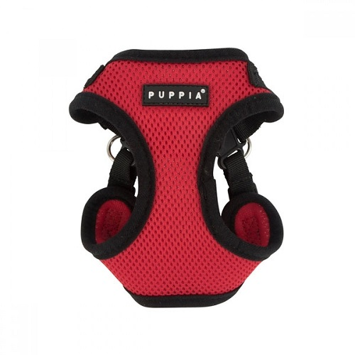 PARA HC1533 RED 1000x1000 1 - Puppia Soft Harness C Red M