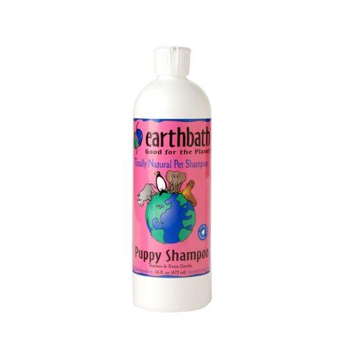Puppy Tearless Shampoo - Earthbath Puppy Tearless Shampoo, Baby-Fresh Cherry Essence 16oz