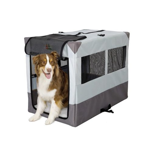 Tent Dog Crate 42 1 - Canine Camper Sportable Tent Dog Crate