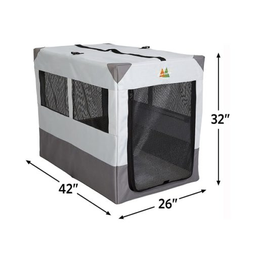 Tent Dog Crate 42 2 - Canine Camper Sportable Tent Dog Crate