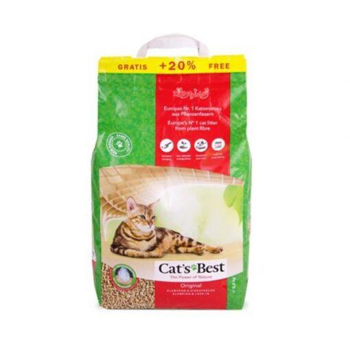 cats best 10 2 - Cats Best Original Cat Litter 10L +2L FREE
