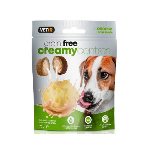 cheese creamy center - VetIQ Creamy Centres Cheese Dog Treats