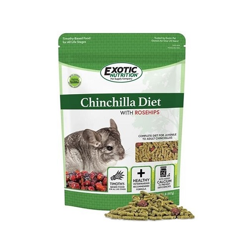 eoen3323 - Chinchilla Diet With Rose Hips 2lb