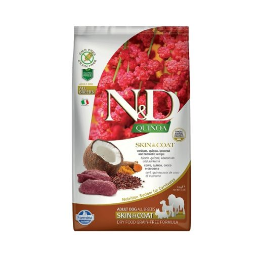 farmina quinoa skin coat venison 2.5 kg - Farmina Quinoa Skin & Coat Venison Dog Food
