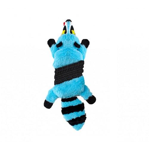 outward hound Roadkillz - Pet Stages Roadkillz Raccoon Blue LG
