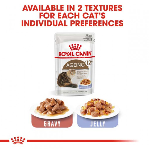 rc fhn wet ageing12jelly cv eretailkit 5 - Royal Canin - Feline Health Nutrition Ageing +12 Jelly
