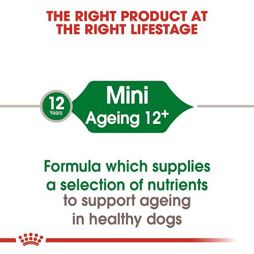 rc shn ageingmini12 cv eretailkit 1 - Royal Canin - Size Health Nutrition Mini Ageing 12+