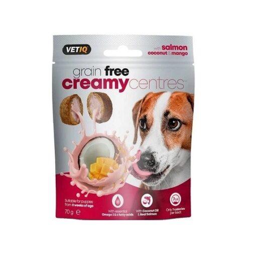 salmon creamy center - VetIQ Creamy Centres Salmon Dog Treats