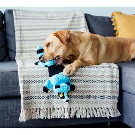 toys for big dogs toys for labs outward hound invincibles roadkillz skunk 2 460x460 1 - Pet Stages Roadkillz Raccoon Blue LG