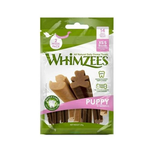 whimzrees PUPPY XS 1 - Whimzees Puppy Stix XS-S (14 Pcs)