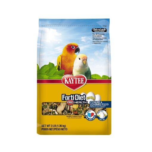 071859534749 2 1 - Kaytee Forti-Diet Pro Health Egg-Cite Conure & Lovebird Food