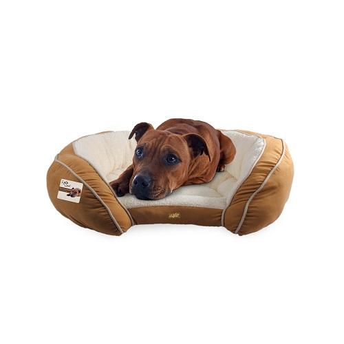 5321 5322 dog 1 1 - AFP Luxury Lounge Bed Tan