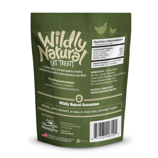 - Fruitables Wildly Natural Cat Treats Chicken Flavor