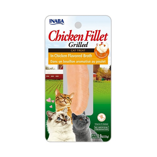 855958006532 chicken - Inaba CIAO Grilled Chicken Fillet in Chicken Flavored Broth