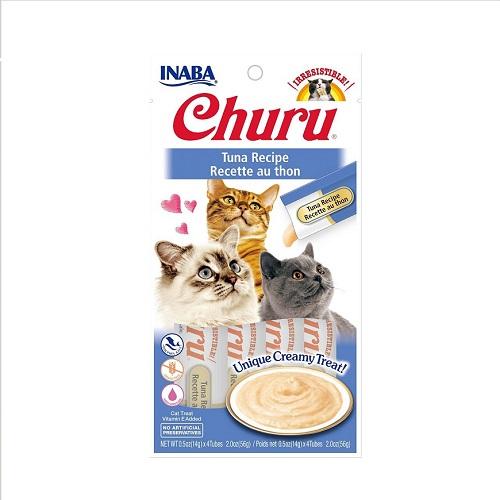 855958006556 TUNA - Inaba Churu Tuna Recipe Cat Treat