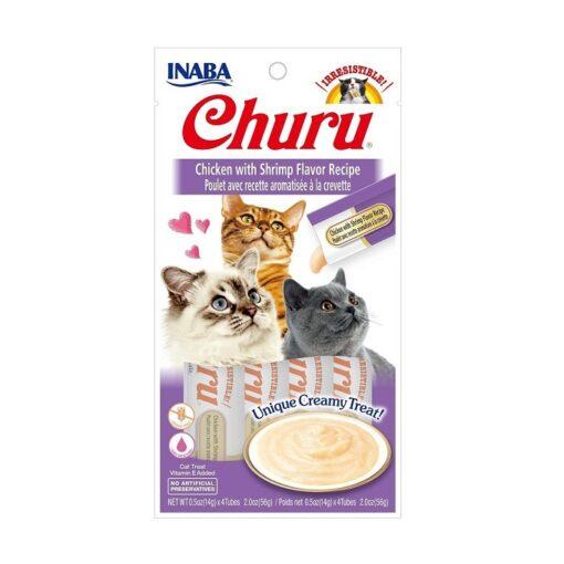 855958006686 SHRIMP - Inaba Churu Chicken With Shrimp Flavor Recipe